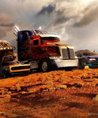 Transformers - Obrázkek zdarma pro Nokia Asha 303