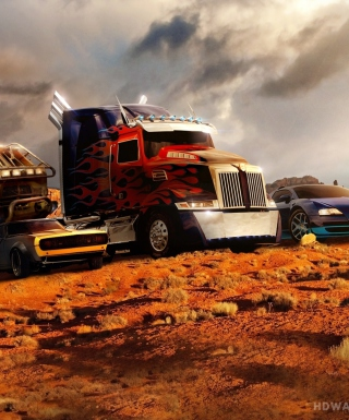 Transformers - Obrázkek zdarma pro Nokia C5-05