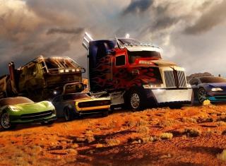 Transformers - Obrázkek zdarma pro Nokia XL