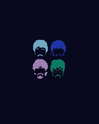 The Beatles - Obrázkek zdarma pro iPhone 4