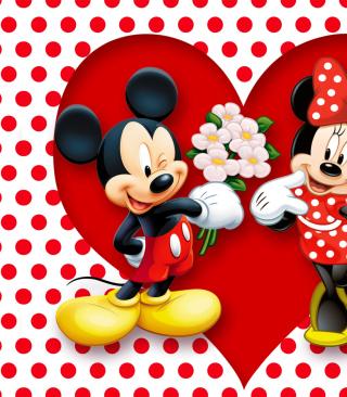 Mickey And Minnie Mouse - Obrázkek zdarma pro Nokia X3