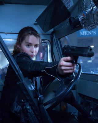 Terminator 5 Genesis - Obrázkek zdarma pro Nokia X1-00