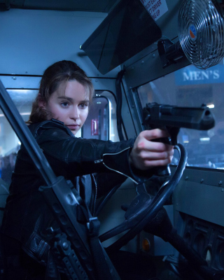 Terminator 5 Genesis - Obrázkek zdarma pro Nokia C2-01