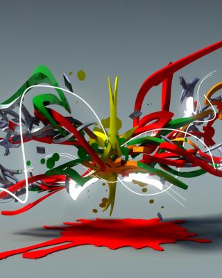 Graffiti 3D - Obrázkek zdarma pro Nokia C2-00