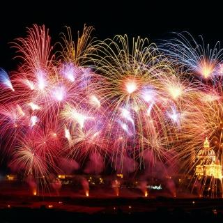New Years Fireworks - Obrázkek zdarma pro 1024x1024