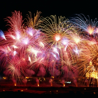 New Years Fireworks - Obrázkek zdarma pro iPad