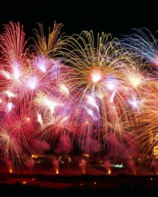 New Years Fireworks - Obrázkek zdarma pro Nokia C1-02