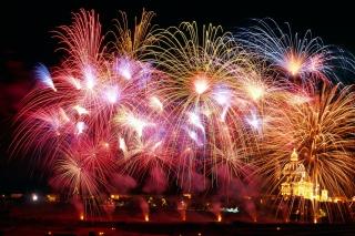 New Years Fireworks - Obrázkek zdarma pro Samsung Galaxy Tab 3 8.0