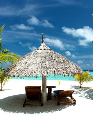 Luxury Beach on Bonaire - Obrázkek zdarma pro Nokia X1-01