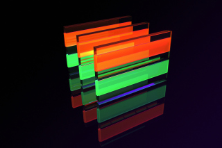 Glass Bricks Wallpaper for Android, iPhone and iPad