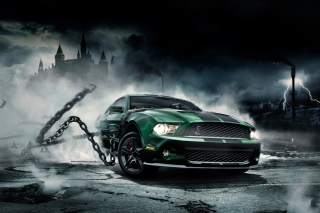 Mustang Shelby Background for Android, iPhone and iPad