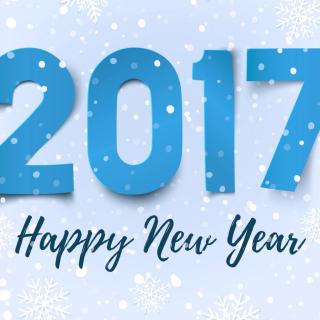 Happy New Year 2017 - Obrázkek zdarma pro iPad