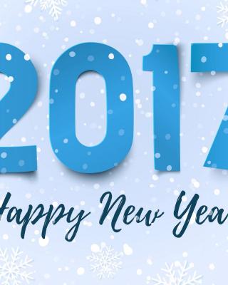 Happy New Year 2017 - Obrázkek zdarma pro Nokia Asha 202