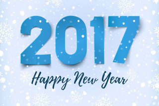 Happy New Year 2017 - Obrázkek zdarma pro Widescreen Desktop PC 1920x1080 Full HD