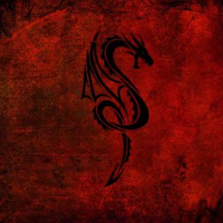 Tribal Dragon - Obrázkek zdarma pro 1024x1024