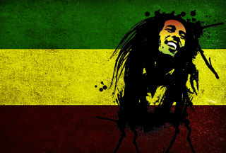 Bob Marley Rasta Reggae Culture - Obrázkek zdarma pro Samsung Google Nexus S 4G