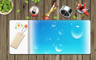 Personal Notebook Diary Background for Android, iPhone and iPad