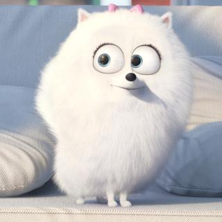 The Secret Life of Pets, Snowball - Obrázkek zdarma pro iPad