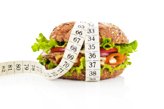 Healthy Diet Burger Wallpaper for Android, iPhone and iPad