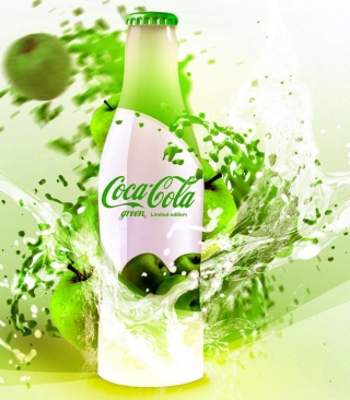 Coca Cola Apple Flavor - Obrázkek zdarma pro Nokia C2-01