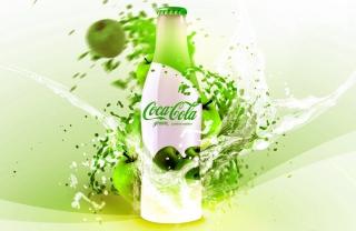 Coca Cola Apple Flavor - Obrázkek zdarma pro Android 480x800