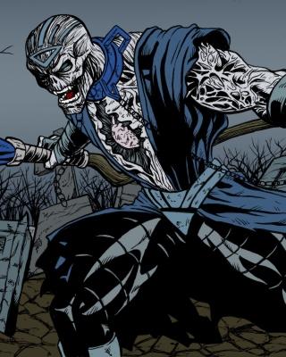 Nekron DC Comics Supervillain - Obrázkek zdarma pro Nokia Lumia 928