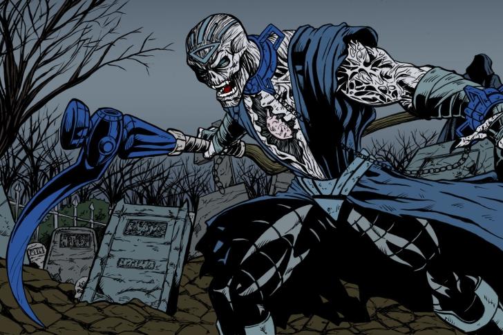 Nekron DC Comics Supervillain wallpaper
