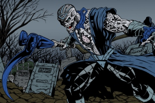 Free Nekron DC Comics Supervillain Picture for Android, iPhone and iPad
