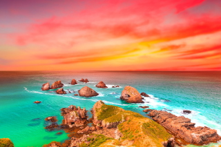 Beautiful Sea Scenery Wallpaper for Android, iPhone and iPad
