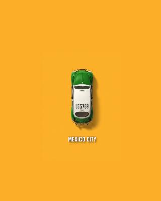 Mexico City Cab - Obrázkek zdarma pro Nokia Asha 303