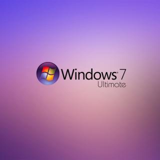 Windows 7 Ultimate - Obrázkek zdarma pro 1024x1024