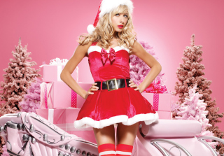 Christmas Girl Picture for Android, iPhone and iPad
