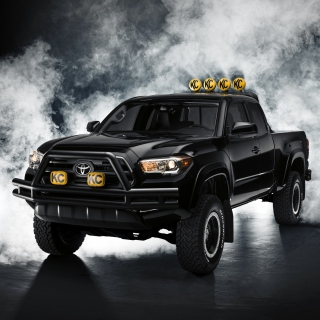 Toyota Tacoma Black - Obrázkek zdarma pro 128x128