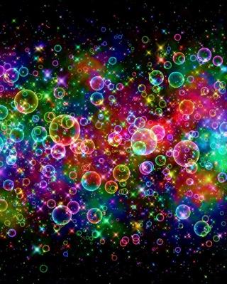 Rainbow Bubbles - Obrázkek zdarma pro Nokia C3-01