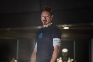 Free Robert Downey Jr As Iron Man 3 Picture for Android, iPhone and iPad