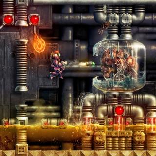 Digital Cyborg Art - Obrázkek zdarma pro 1024x1024