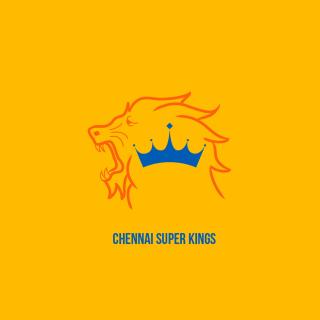 Chennai Super Kings IPL - Obrázkek zdarma pro 2048x2048