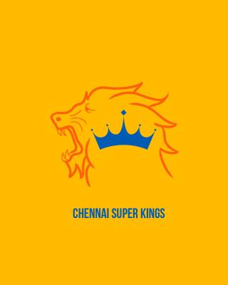 Chennai Super Kings IPL - Obrázkek zdarma pro iPhone 5S