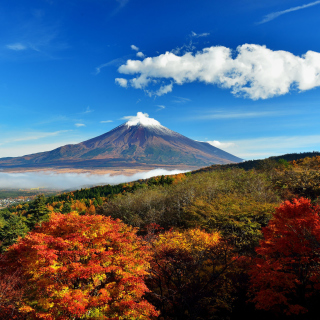 Mount Fuji 3776 Meters - Obrázkek zdarma pro iPad mini 2