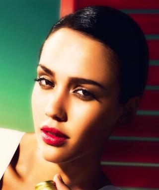 Portrait Of Jessica Alba - Obrázkek zdarma pro 480x800