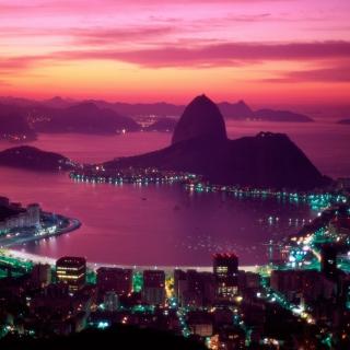 Sugarloaf Mountain Rio Brazil - Obrázkek zdarma pro 208x208