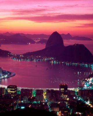Sugarloaf Mountain Rio Brazil - Obrázkek zdarma pro Nokia C2-00