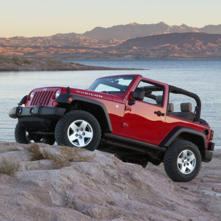 Jeep Wrangler Rubicon Hard Rock - Obrázkek zdarma pro 1024x1024