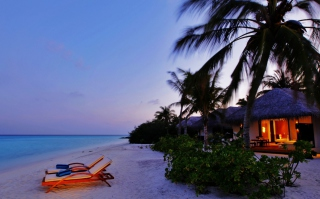 Luxury Beach Resort Picture for Android, iPhone and iPad