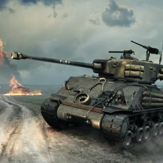 World of Tanks Blitz America - Obrázkek zdarma pro iPad Air