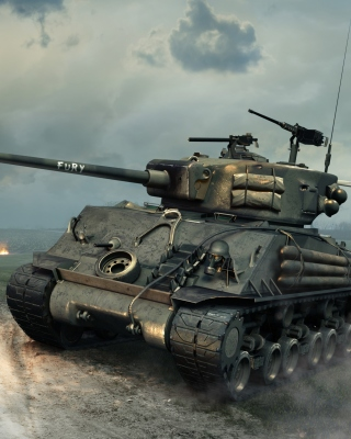 World of Tanks Blitz America sfondi gratuiti per Nokia Asha 306