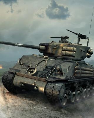 World of Tanks Blitz America - Obrázkek zdarma pro Nokia C6-01