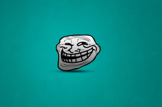 Troll Face Wallpaper for Android, iPhone and iPad