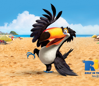 Rafael From Rio Movie - Obrázkek zdarma pro iPad 3
