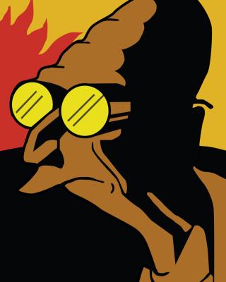 Futurama Professor Farnsworth - Obrázkek zdarma pro 1080x1920